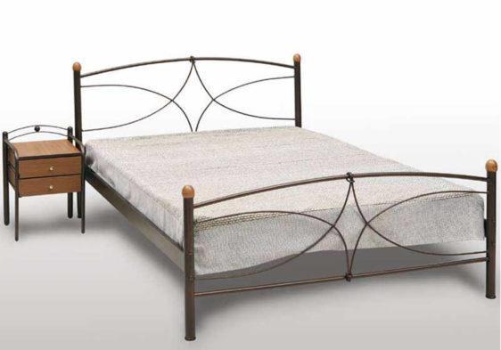 Κρεβάτι Μεταλλικό Μονό ή Ημίδιπλο Γογ-Κως