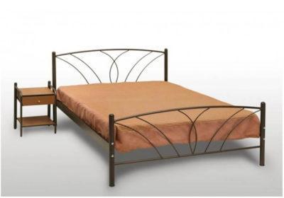 Κρεβάτι μεταλλικό μονό ή ημίδιπλο Γογ-Τήνος