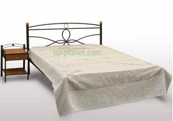 Κρεβάτι Μεταλλικό Μονό ή Ημίδιπλο Γογ-Μύκονος