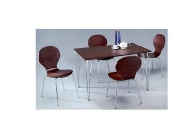 Τραπέζι Κουζίνας από Ξύλο Βέγκε 411151, Διαστάσεις:75x120x74 (ύψος)