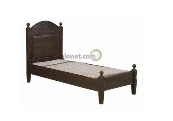Κρεβάτι από Μαόνι BD09 SINGLE