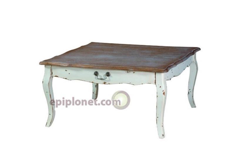 Τραπέζι σαλονιού σε χωριάτικο Country style J-142518