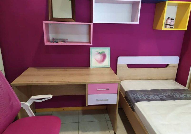 παιδικό δωμάτιο ροζ κοριτσίστικο