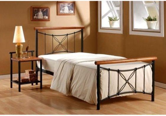Κρεβάτι Ημίδιπλο Μεταλλικό V-050617