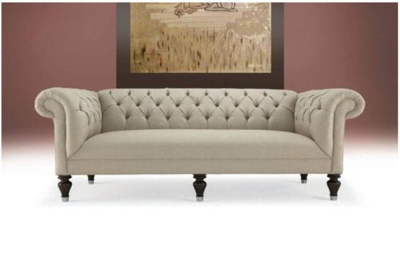 Τριθέσιος καναπές καπιτονέ C-105000