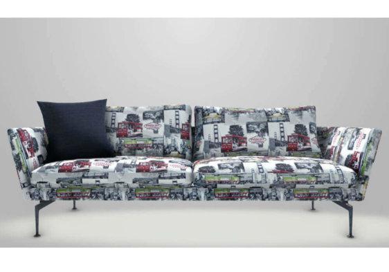 μοντέρνος καναπές με ύφασμα casablanca