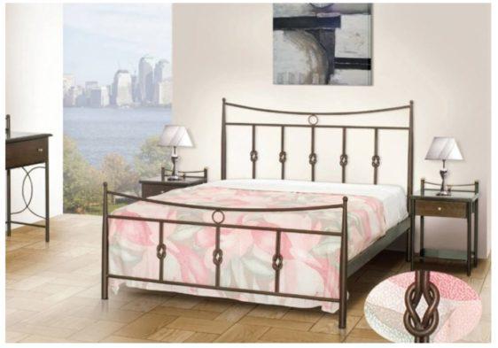 Κρεβάτι Μεταλλικό Με Ναυτικούς Κόμπους Μ-050633