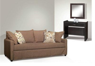 Τριθέσιος Καναπές Με Μαξιλάρες C-102529