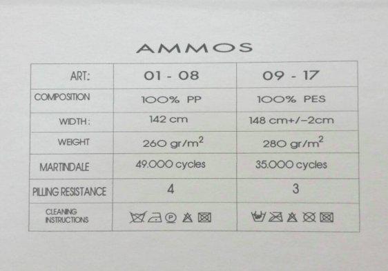 λεπτομέρειες υφάσματος ammos