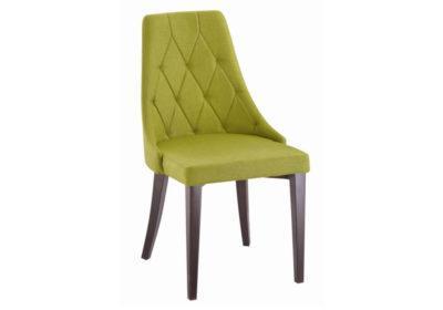 Καρέκλα Με Μεταλλικά Πόδια και Ύφασμα