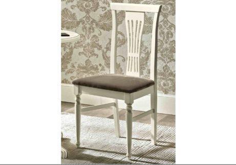 Ξύλινη λευκή Ιταλική καρέκλα