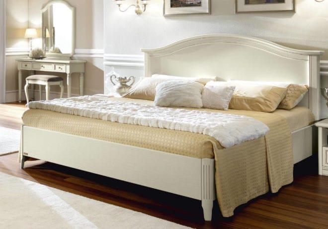 Ξύλινο country κρεβάτι