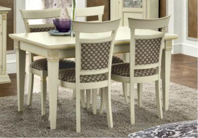 Λευκό Τραπέζι Με Επέκταση 140(+90)X85 CG-122040