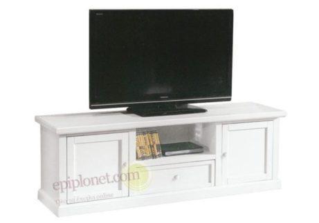 Κλασσικό έπιπλο τηλεόρασης με ντουλάπια