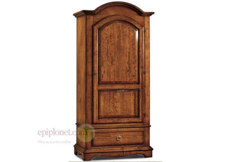 Ιταλική ξύλινη ντουλάπα ρούχων