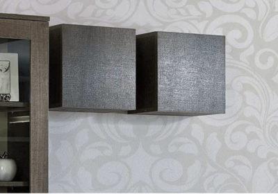 Τετράγωνο Κουτί Κρεμαστό με Ντουλάπι Α-131554