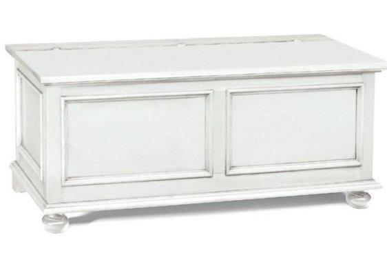 Λευκό βίντατζ μπαούλο