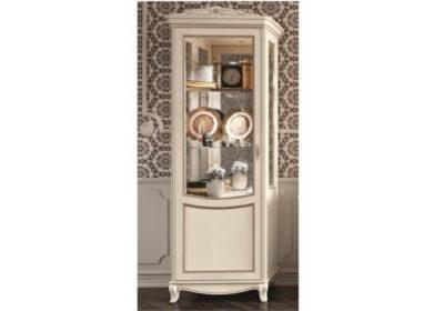 Λευκή Ιταλική βιτρίνα κλασική ρομαντική CG-126627