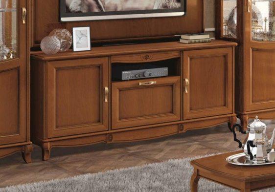Ιταλικό έπιπλο τηλεόρασης με τρία ντουλαπάκια