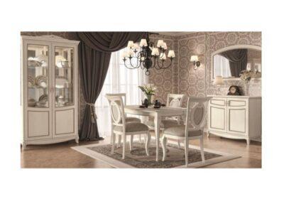 Κλασικό Τραπέζι Κουζίνας 110ΜΧ60Β Λευκό ή Καρυδί CG-122069