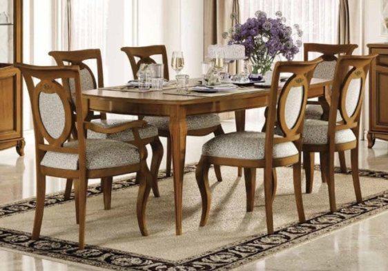 Κλασσικό τραπέζι με μηχανισμό επέκτασης