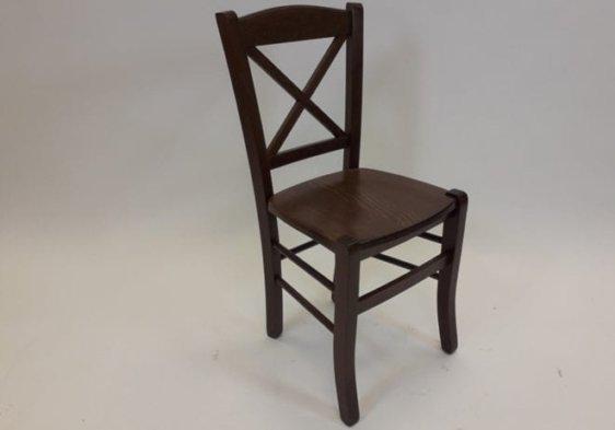 Ιταλική καρέκλα με ξύλινη πλάτη