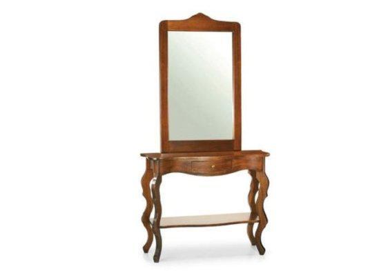 Κλασσική Ιταλική κονσόλα με καθρέφτη