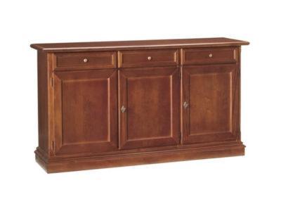 Μπουφές vintage με τρία συρτάρια και τρεις πόρτες ΤΕ-203617