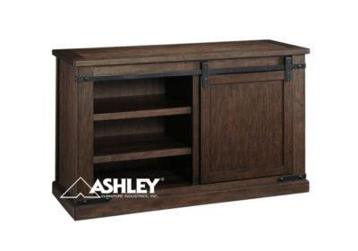 Έπιπλο Τηλεόρασης Ashley με Μεταφερόμενα Ράφια και Συρόμενη Πόρτα G-131575