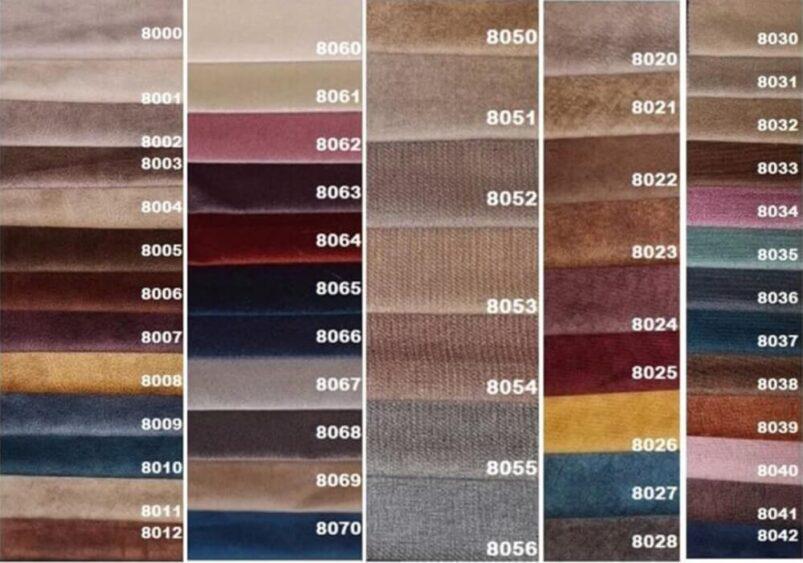 Μοντέρνος Καναπές Κρεβάτι με Ύφασμα σε Γκρι Χρώμα Ef-105048