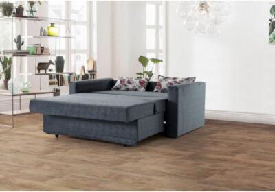 Διθέσιος Καναπές Κρεβάτι με Αποθηκευτικό Χώρο Ef-105057