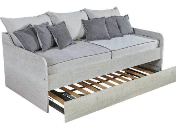 Καναπές κρεβάτι με Ξύλινο Σκελετό Α-105059