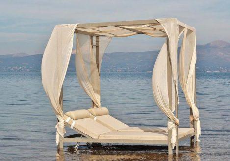 Ξαπλώστρες παραλίας