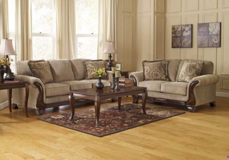Κλασικά σαλόνια-τριθέσιοι και διθέσιοι καναπέδες