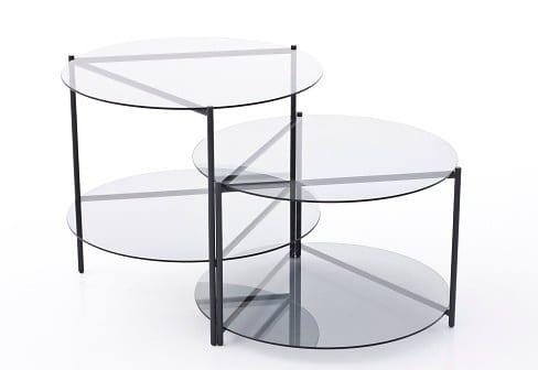 Γυαλί και μέταλλο Design:Nendo Manufacturer:Moroso