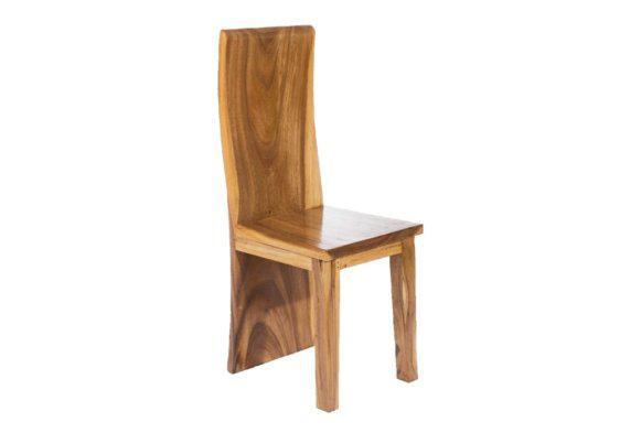καρέκλα εστιατορίου από κορμό δέντρου