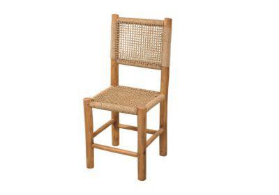 καρέκλα φαγητού για τη βεράντα σας ξύλου teak