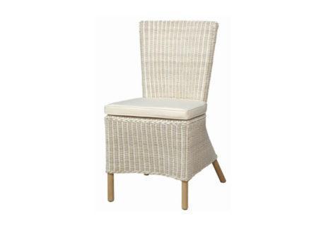 λευκή καρέκλα φαγητού τραπεζαρίας κήπου