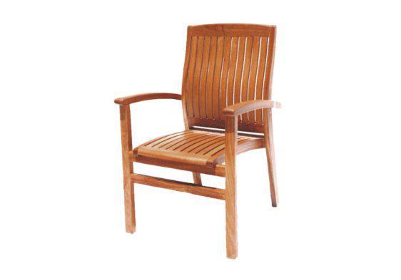 Πολυθρόνα βεράντας από μασίφ ξύλο ακακίας