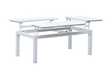 ανοιγόμενο τραπέζι κήπου από αλουμίνιο