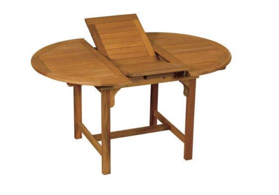 οβάλ επεκτεινόμενο τραπέζι κήπου από balau