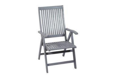 ψηλόπλατη πτυσσόμενη ξύλινη πολυθρόνα
