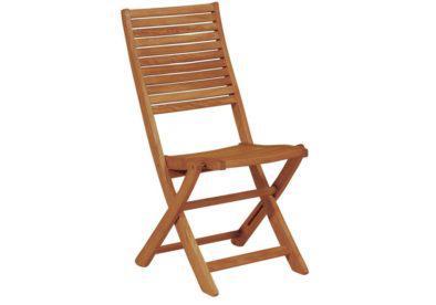 ξύλινη αναδιπλώμενη καρέκλα χαμηλής πλάτης balau