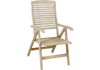 ξύλινη ψηλόπλατη πτυσσόμενη πολυθρόνα