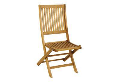 ξύλινη πτυσσόμενη καρέκλα χαμηλής πλάτης