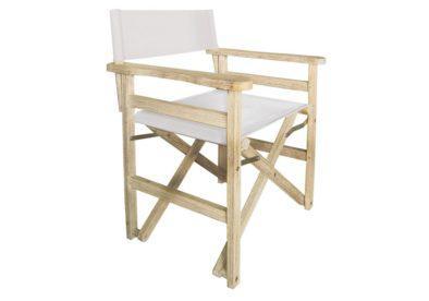 ξύλινη πτυσσόμενη πολυθρόνα σκηνοθέτη