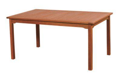 ξύλινο σταθερό τραπέζι red hard wood