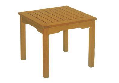 ξύλινο βοηθητικό τραπεζάκι από ξύλο ακακίας