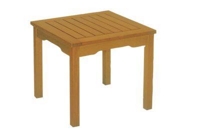 ξύλινο βοηθητικό τραπεζάκι κήπου