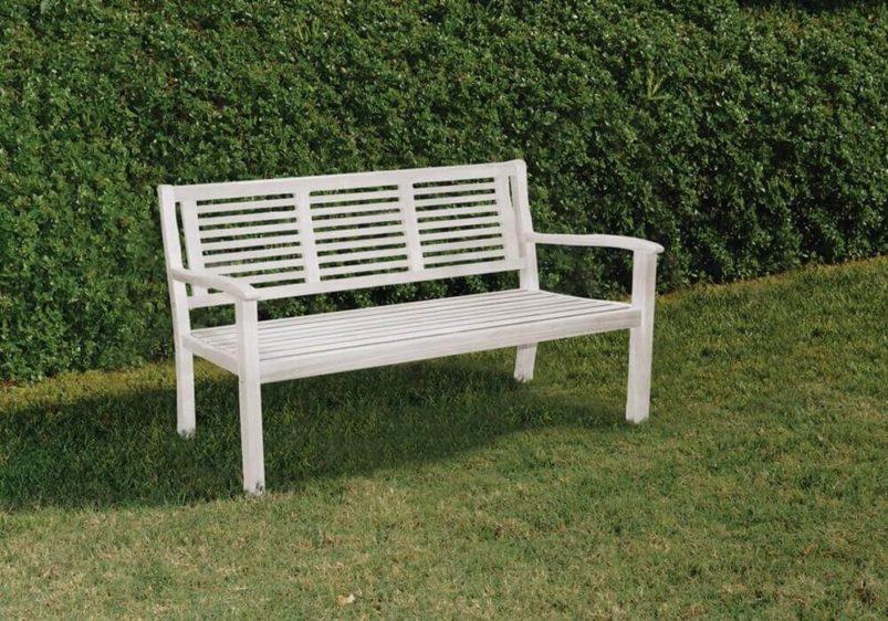 ξύλινος διθέσιος καναπές παγκάκι